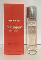 Мужской мини парфюм jeanmishel Love Happy  35ml