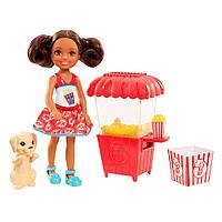 Набор Barbie Вкусные развлечения Челси Брюнетка (FHP66/FHP68)