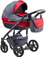 Детская универсальная коляска 2 в 1 Adamex Prince X-18-SZ