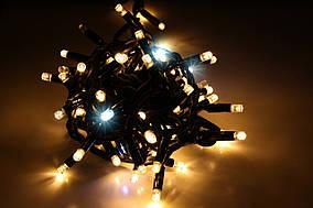 Уличная светодиодная гирлянда нить Lumion String Light (Стринг лайт) 100 led наружная белый теплый с мерцанием