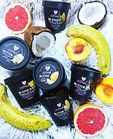 Баттер Скраб с ароматом Банана - нежный и увлажняющий скраб для лица и тела на основе Масла Ши