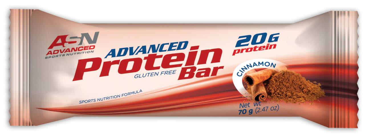Батончик ASN - Advanced Protein Bar (70 грамм) корица