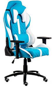 Кресло ExtremeRace light blue/white Tilt TM Special4You