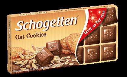 Шоколад Schogetten Oat Cookies молочный 100 г