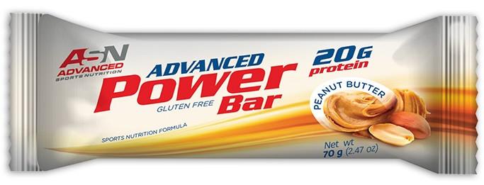 Батончик ASN - Advanced Protein Bar (70 грамм) арахисовая паста