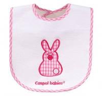 Слюнявчик хлопчато-клеенчатый Кролик
