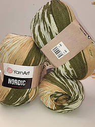 Nordic (Нордік) 20% - вовна, 80% - акріл 651