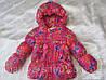 Женская детская куртка бантик на пуху, фото 3