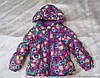 Детская женская куртка на пуху, фото 2