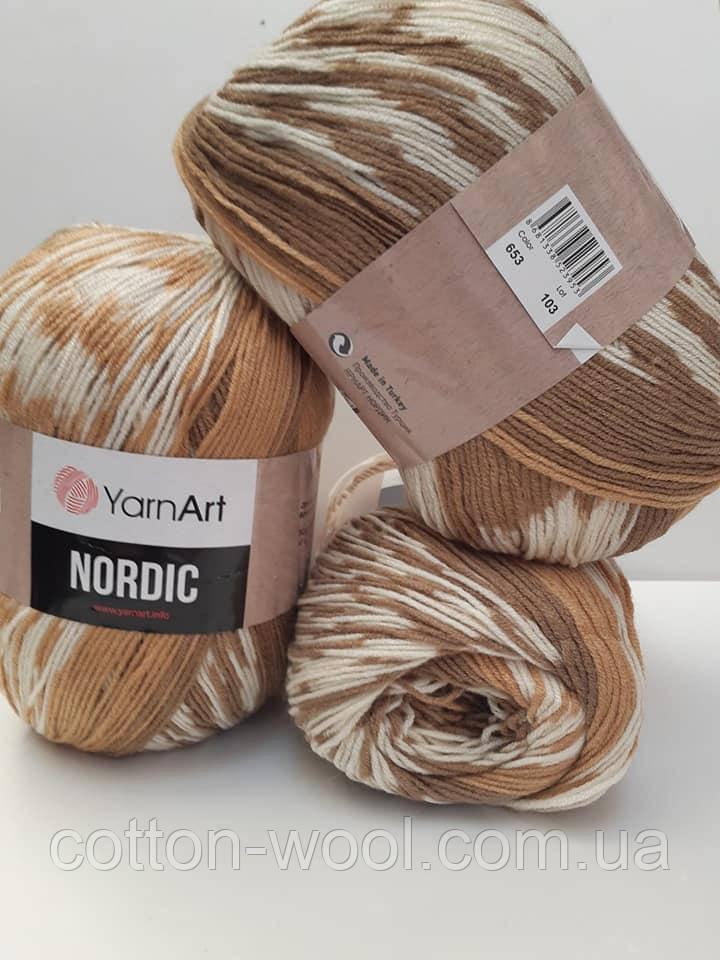 Nordic (Нордік) 20% - вовна, 80% -  акріл 653