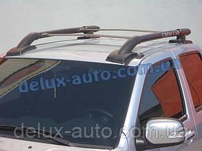 Рейлинги на крышу с перемычками на Исузу Д Макс 2004+ Релинги с поперечинами в сборе на Isuzu D-Max 2004+