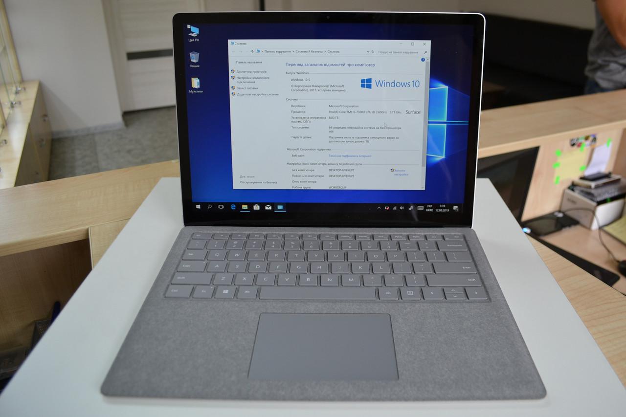 "Ноутбук Microsoft Surface Laptop 1769 13.5""Multi-touch i5-7300 2.6GHz 8GB RAM 256GB SSD Оригинал!"