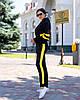 Женский осенний спортивный костюм: кофта с капюшоном и штаны, фото 3