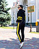 Женский осенний спортивный костюм: кофта с капюшоном и штаны, фото 6