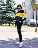 Жіночий осінній спортивний костюм: кофта з капюшоном та штани з кишенями, фото 7