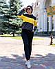 Жіночий осінній спортивний костюм: кофта з капюшоном та штани з кишенями, фото 8