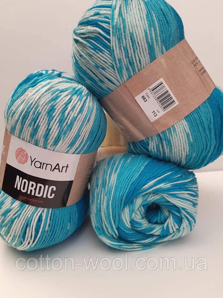 Nordic (Нордік) 20% - вовна, 80% -  акріл 663