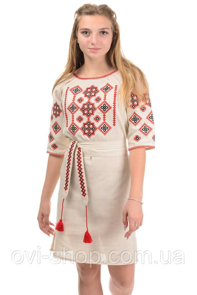 нарядное платье вышиванка