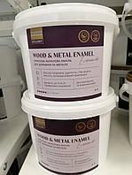 Эмаль акриловая для древесины и металла Колорит (Wood & Metal Enamel Kolorit) база А - 0,9л