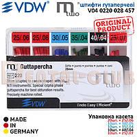 Штифти гутаперчеві М2 - Mtwo VDW (Мту ВДВ) ISO розмір асорті 20×25/.06, 10×30/.05,35/.04,40/.04,25/.07