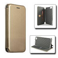 Чехол-книжка Book Case для Apple iPhone 7 / iPhone 8 Золотистый