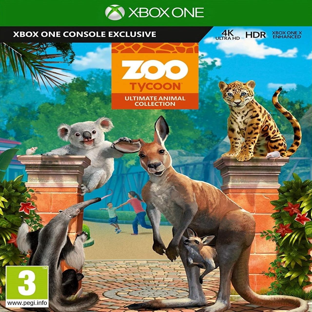 Zoo Tycoon Xbox One RUS (Код)