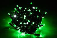 Уличная светодиодная гирлянда нить Lumion String Light стринг лайт100 led цвет зеленый с мерцанием без каб пит