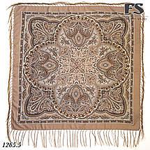 Павлопосадский шерстяной платок Таира, фото 2