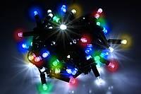 Уличная светодиодная гирлянда нить Lumion String Light (Стринг лайт) 100 led наружная мультиколор с мерцанием