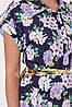 Платье Алена гортензия синее, фото 5