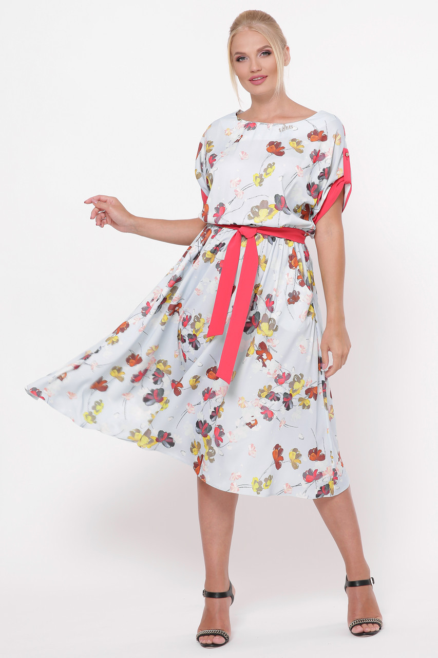 Платье женское Ирина небо
