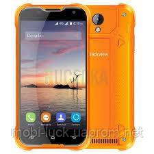 Оригинальный влагонепроницаемый Blackview BV5000 orange 5 дюймов, 4 ядра, 16 Гб, 8 Мп, 2 сим.