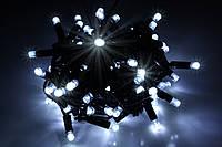 Уличная светодиодная гирлянда нить Lumion String Light (Стринг Лайт) 100 led. Белый холодный с мерцанием