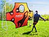 Футбольные ворота NS-453 300 x 200 x 120 cm с сеткой и экраном (9041), фото 3