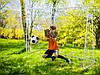 Футбольные ворота NS-453 300 x 200 x 120 cm с сеткой и экраном (9041), фото 4