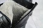 Ботинки женские зимние Emma натуральная кожа чёрные, фото 8