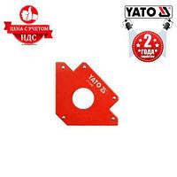 Струбцина магнитная для сварки YATO YT-0865 122х190х25 мм 34,0 кг