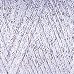 Yarnart Macrame Cotton Lurex №720 белый