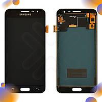Дисплей для Samsung J320H/DS Galaxy J3 (2016), с тачскрином в сборе, цвет черный, TFT c регулировкой яркости