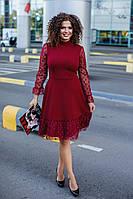 Платье женское нарядное (норма и батал)