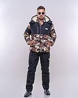 "Мужской дутый зимний костюм  "" The North Face "" Dress Code, фото 1"