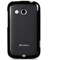 Чехол для Melkco Poly Jacket TPU cover for HTC Desire C A320e black [O2DERCTULT2BKMT]