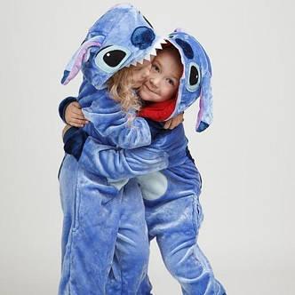 Детская пижама кигуруми стич, фото 2