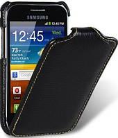 Чехол для Melkco Jacka leather case for Samsung S7500 Galaxy Ace Plus black (SSS750LCJT1BKLC)
