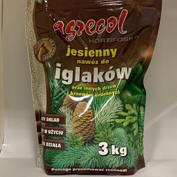 Agrecol/Агрекол удобрение осеннее для хвойных культур, 3 кг