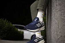Мужские кроссовки  New Balance 574 Blue ( Реплика ), фото 3