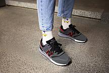 Мужские кроссовки  New Balance 997 Grey Red ( Реплика ), фото 3