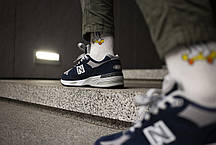 Мужские кроссовки  New Balance 991 Dark Blue ( Реплика ) 41 размер, фото 3