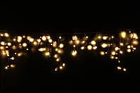 Уличная светодиодная гирлянда бахрома Lumion Icicle Light (Айсикл лайт) 90 led наружная белый теплый мерцающая