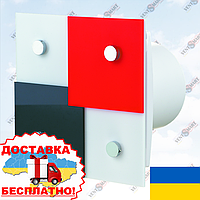 Стильный дизайнерский вентилятор ВЕНТС Домино (VENTS Domino)